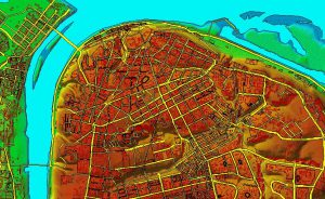 Цифровая модель местности/ DEM